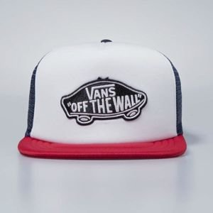 Vans snapback Classic Patch Truck dres blues / white / red VN000H2VPIQ