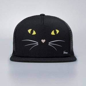 Vans snapback Lawn Party Truck Cap Black Cat black V005KHP21