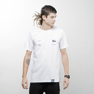 We Peace It T-shirt Earth2017 white