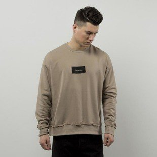 We Peace It sweatshirt Oblivion Crewneck beige