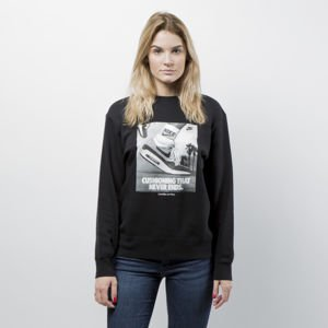 Women Sweatshirt Nike NSW Crew FLC AM1 black AJ2504-010