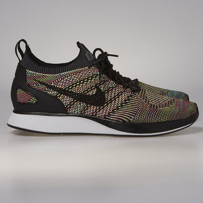 Nike Air Zoom Mariah Flyknit Racer white / black - volt - chlorine ...