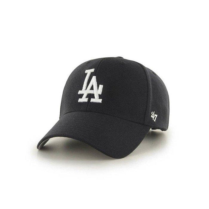 dfe591c6bec  47 Brand Los Angeles Dodgers Strapback black   white
