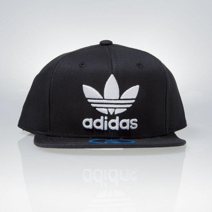 6a92075d9e8 Adidas Originals Ac Cap Tre Flat black   white (S95077)