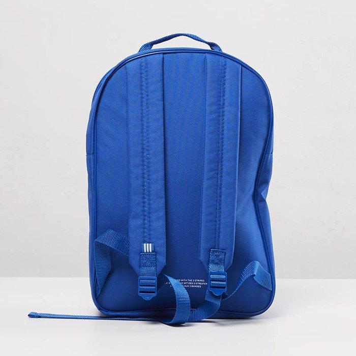 9c367de3ea ... Adidas Originals BP Clas Trefoil Backpack blue BK6722 ...