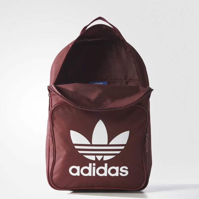 329e8605e3 Adidas Originals BP Clas Trefoil Backpack burgundy BP7303