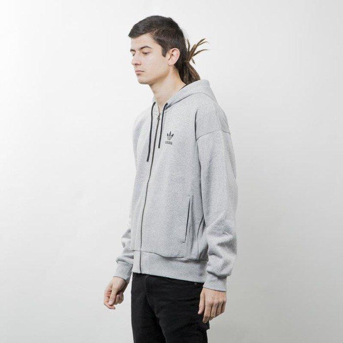 Cena fabryczna sprawdzić na wyprzedaży Adidas Originals Brand Zip Hoody melange grey AY9301