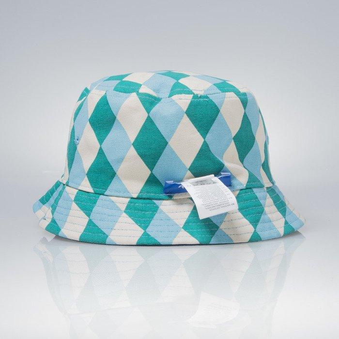 21a09fc538a949 ... Adidas Originals Bucket Tennis shadow blue // multi color (AJ7091) ...
