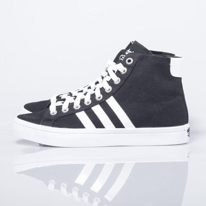 reputable site bba6e 92422 ... Adidas Originals CourtVantage Mid black  white (S79303) ...