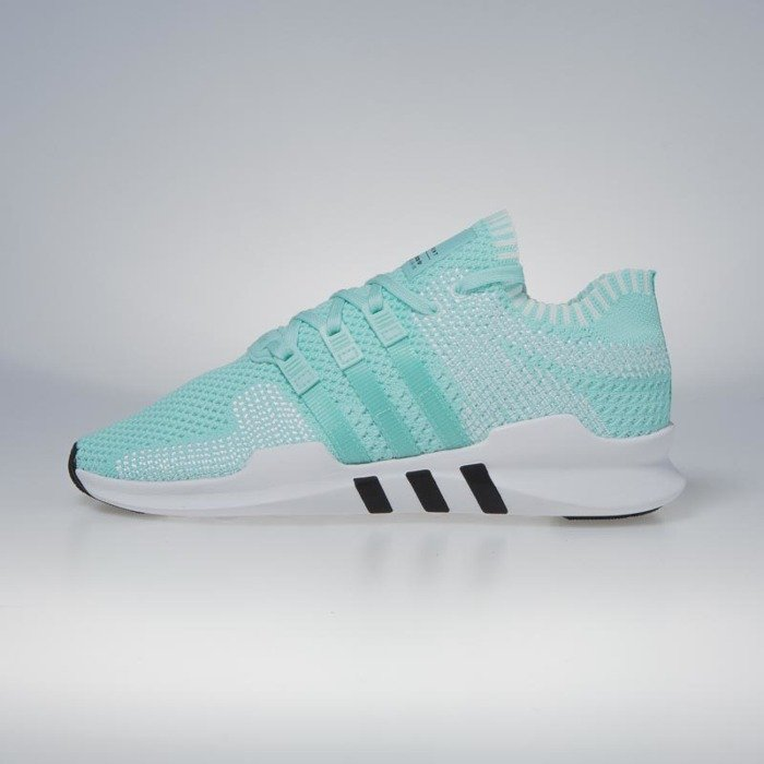 new styles 0bbb6 7cb21 Adidas Originals Equipment Support ADV Primeknit energy aqua / energy aqua  / footwear white BZ0006