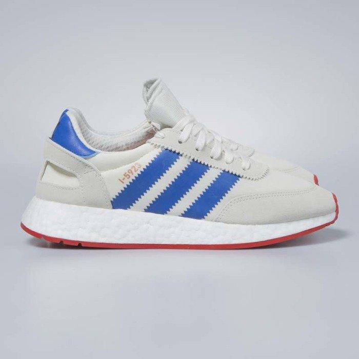 Adidas Originals I-5923 off white / blue / core red BB2093