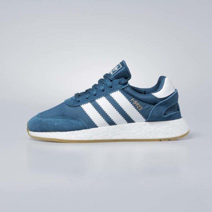 the latest exclusive range great fit Adidas Originals I-5923 petrol night / footwear white / gum 3 CQ2529