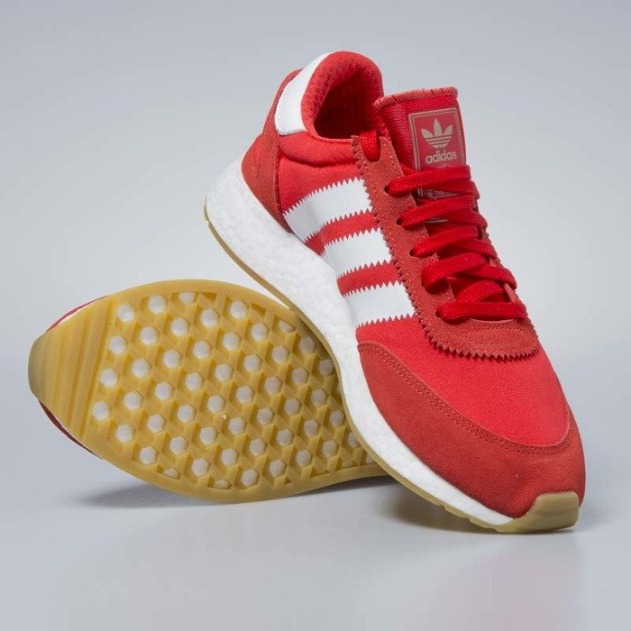 Adidas Originals Iniki Runners red footwear white gum BB2091