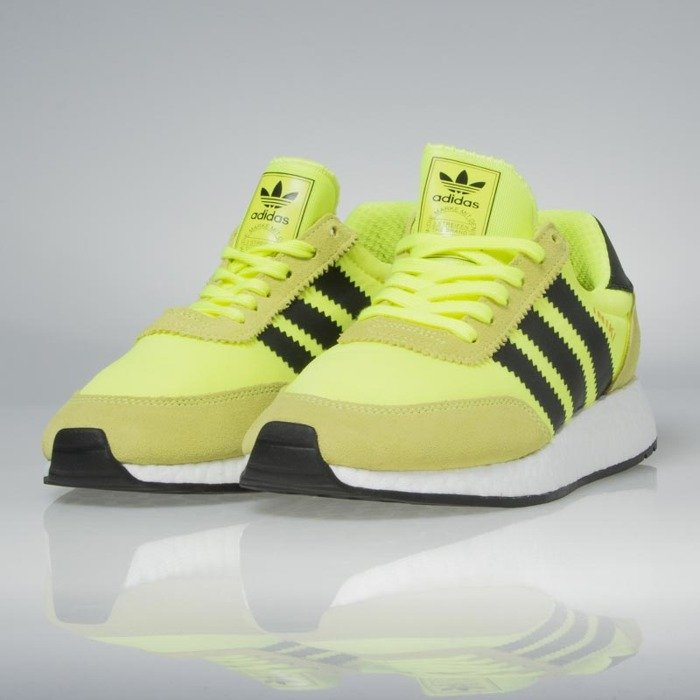 45de48e0c ... Adidas Originals Iniki Runners solar yellow   core black   footwear  white BB2094 ...