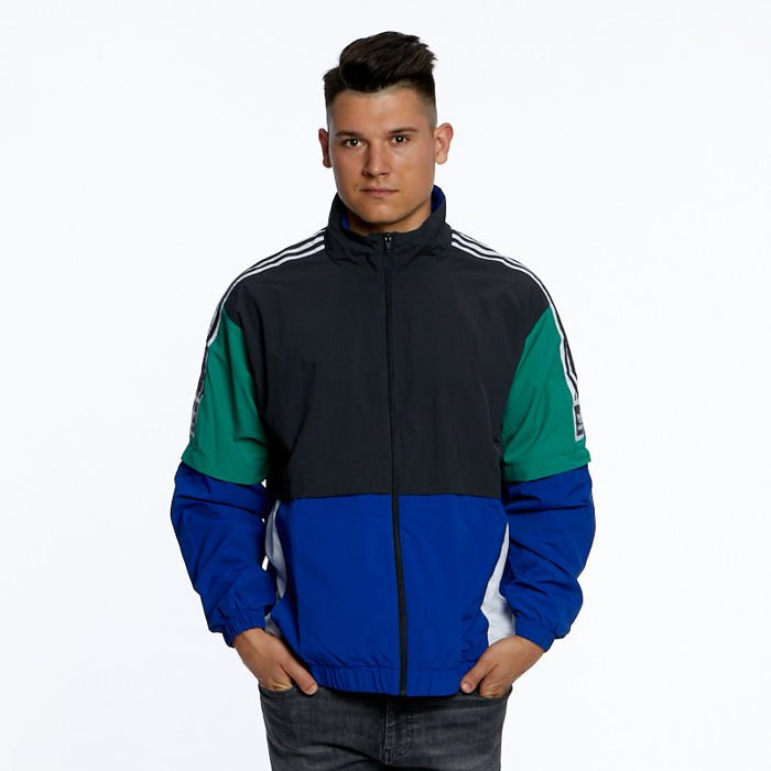 Adidas Originals Jacket Standard 20 Jacket carboncollegiate royalbold greenwhite