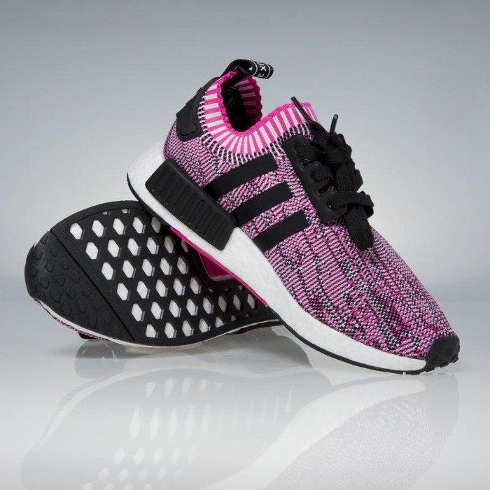 e22b0085f6520 Adidas Nmd R1 Core Black Peach Pink