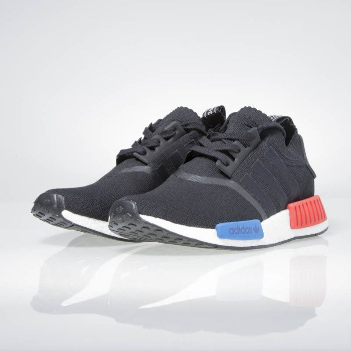 in stock 0c98a 60ad1 Adidas Originals NMD_R1 PK black / white / red / blue S79168