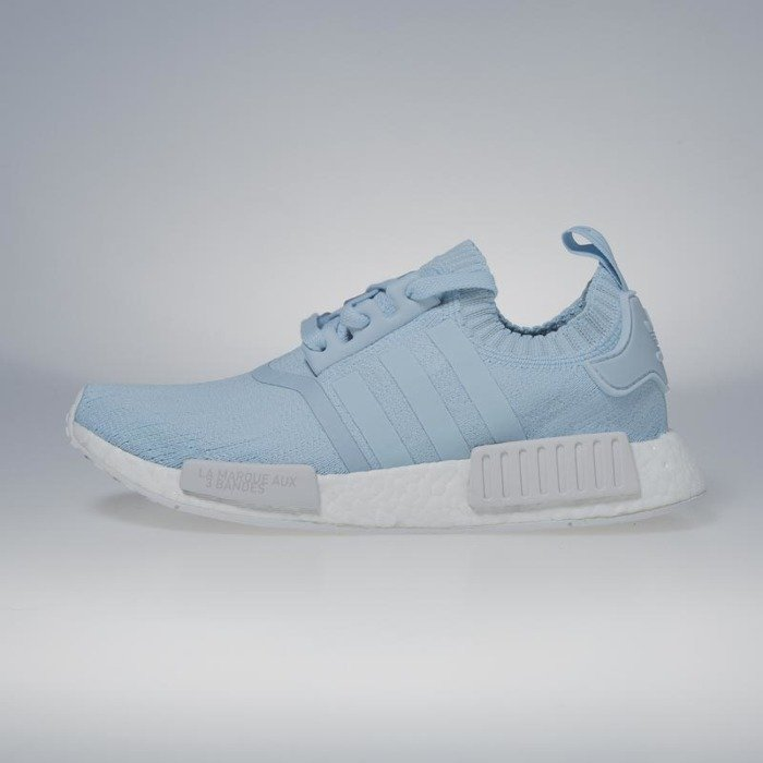 the best attitude 0d58b 28e68 Adidas Originals NMDR1 PK ice blue  ice blue  footwear white BY8763   Bludshop.com