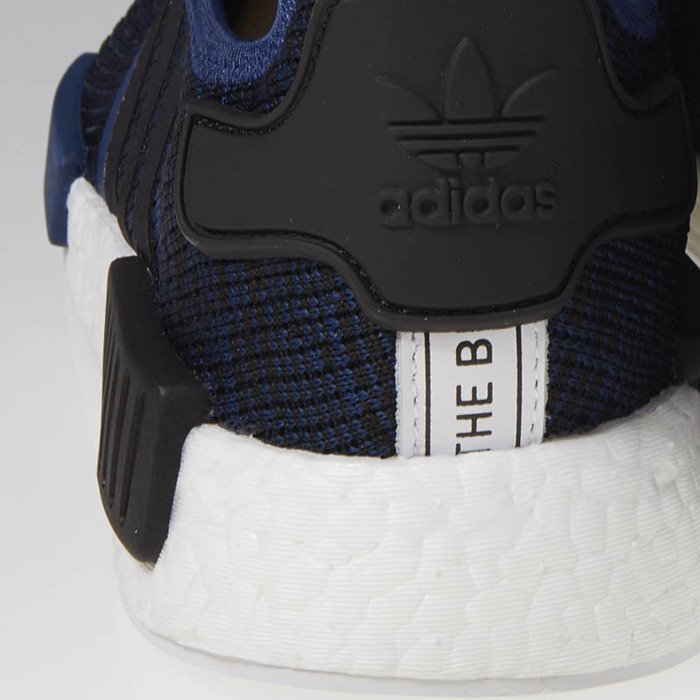 7f4a0290684b5 ... Adidas Originals NMD R1 mystery blue   core black   collegiate navy  BY2775 ...