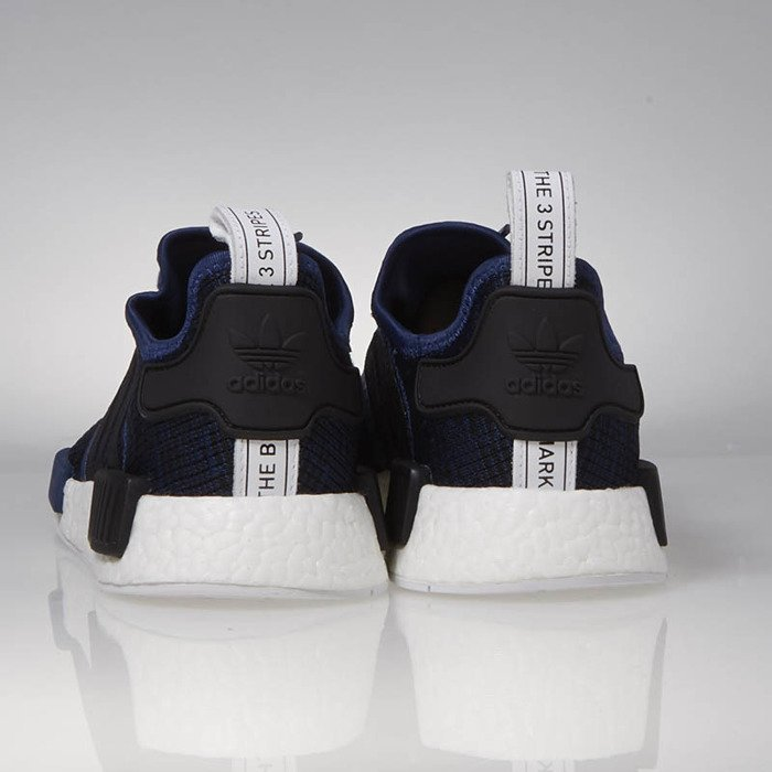 86beccde86948 ... Adidas Originals NMD R1 mystery blue   core black   collegiate navy  BY2775 ...