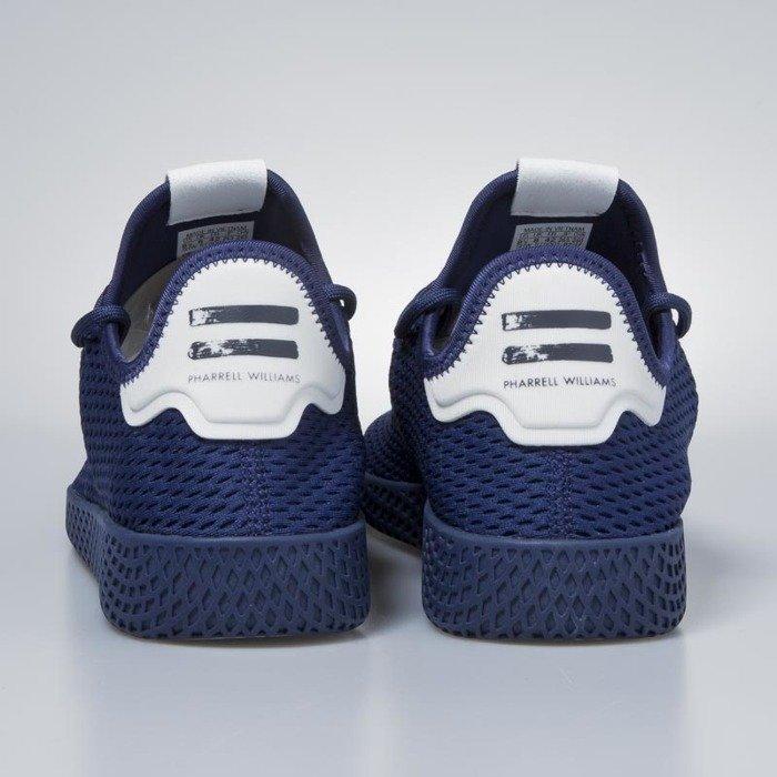 23ebd02f8 ... Adidas Originals Pharrell Williams Tennis HU blue   blue   running white  BY8719 ...