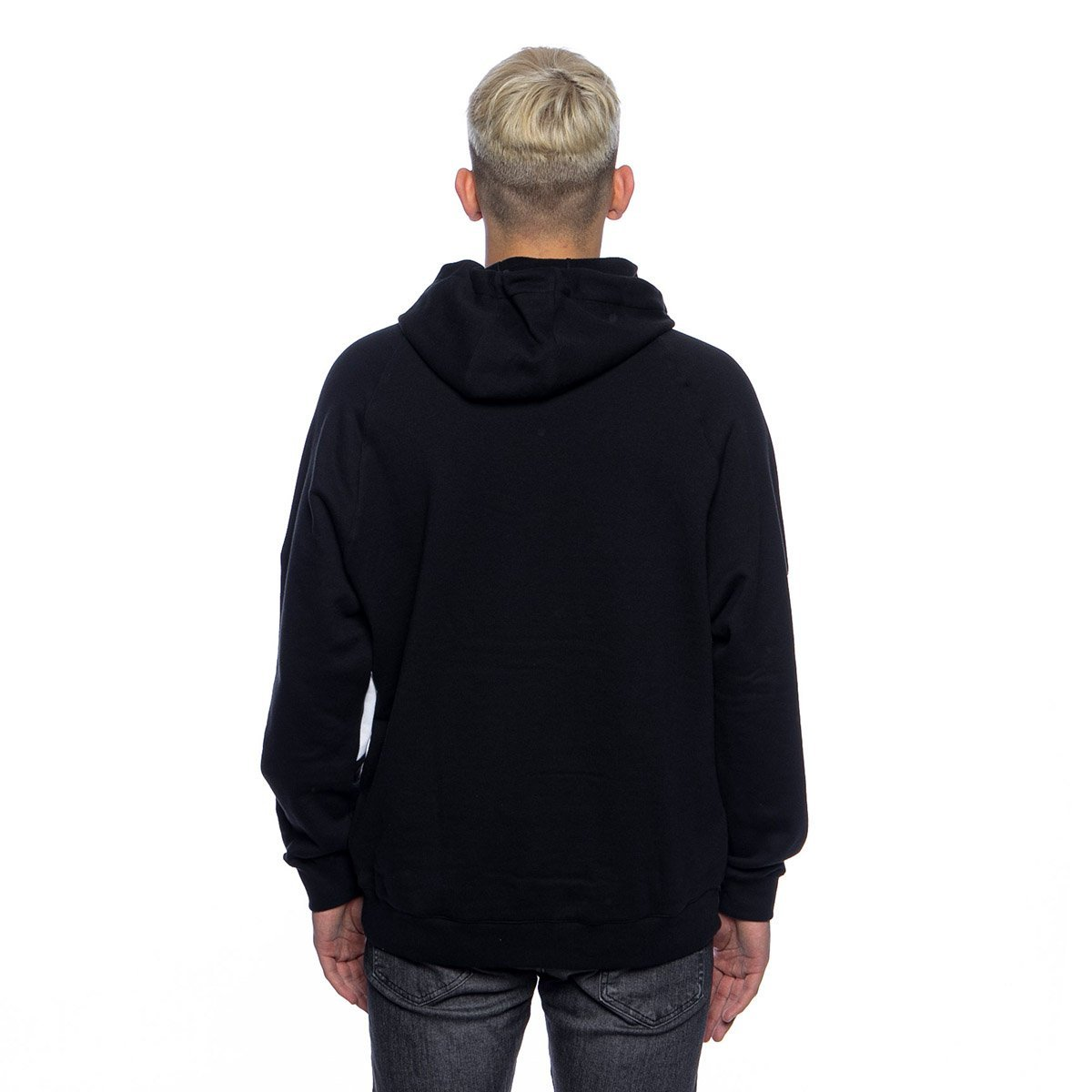 Adidas originals originals trefoil hoodie black white + FREE