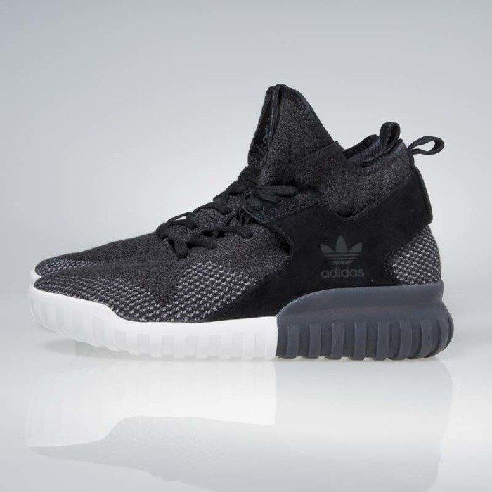 more photos 1e268 4af32 ... Adidas Originals Tubular X Primeknit core Black / dark shale / charcoal  solid grey BB2379 ...