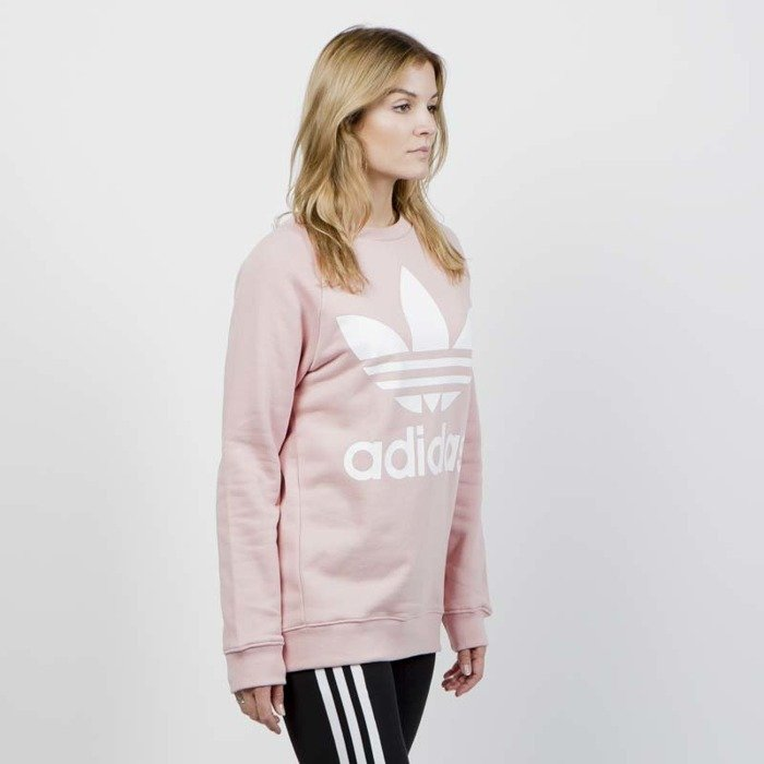 ac8aaf44 Adidas Originals WMNS Oversized Sweat pink spirit | Bludshop.com