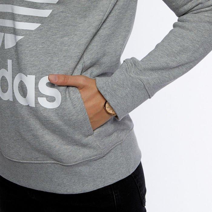 adidas bluza damska trefoil hood
