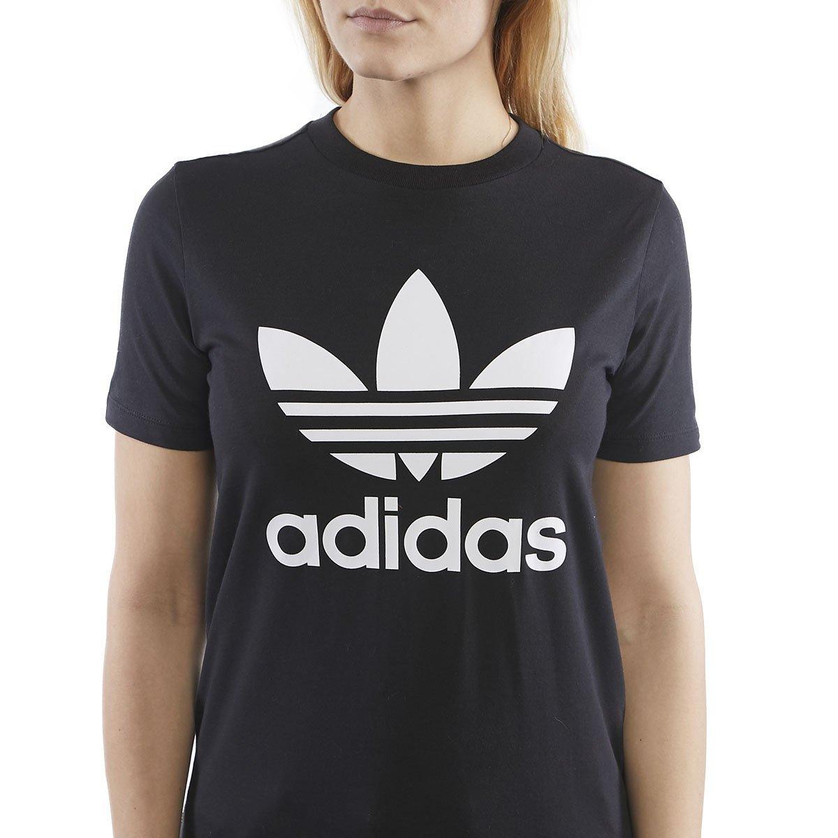 Adidas Originals Trefoil T shirt BlackWhite