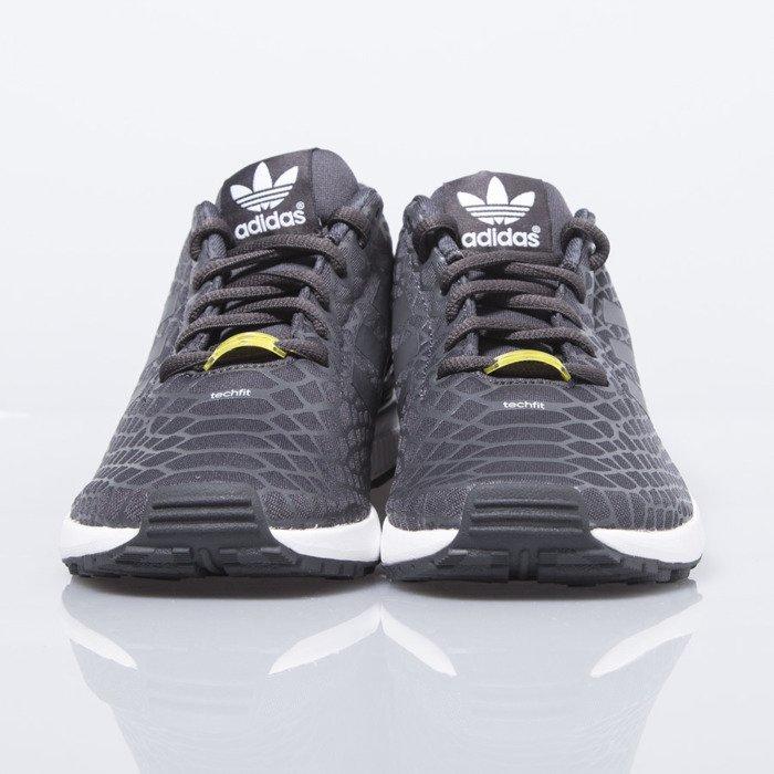 ... Adidas Originals ZX Flux Techfit shadow black / white (S75488) ...