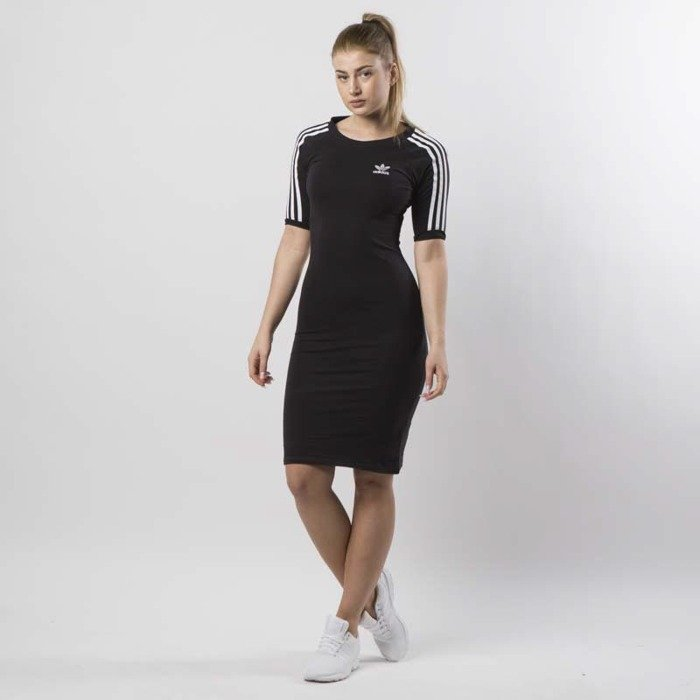 f0fa6ccc7af3 Adidas Originals dress 3 Stripes Dress black CY4748