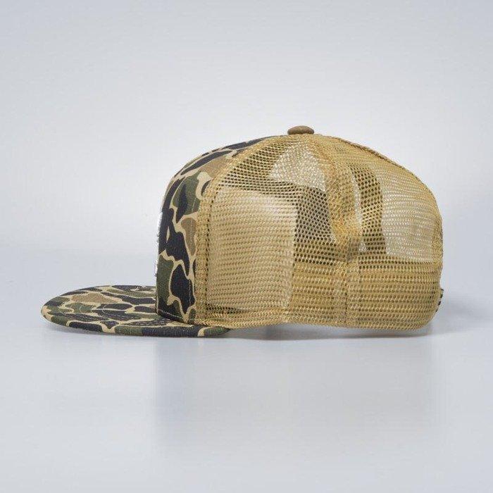 b1ebeda4b6b ... Adidas Originals snapback Trucker Cap Camouflage dark sahara CE4869 ...