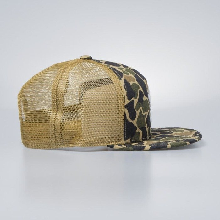 d21c44f00c9 ... Adidas Originals snapback Trucker Cap Camouflage dark sahara CE4869 ...