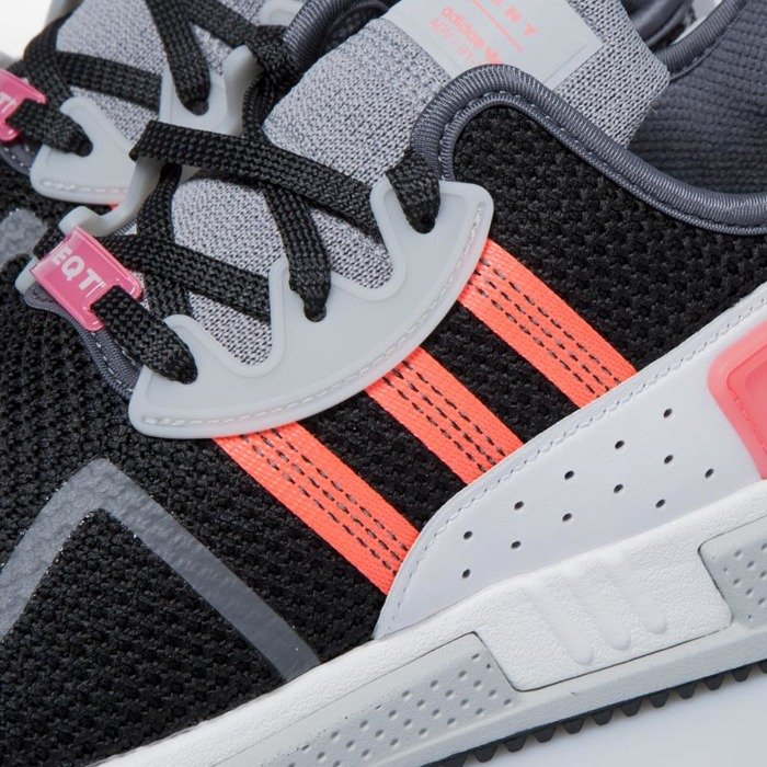 finest selection 407ba ca75c ... Adidas Originals sneakers EQT Cushion ADV core black  sub green   footwear white AH2231 ...