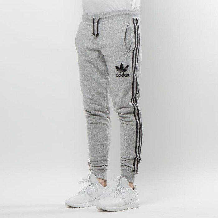 ... Adidas Originals sweatpants 3Striped Pant grey ... 852410bbc874