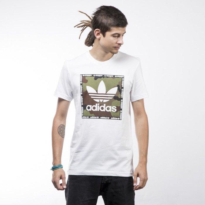 new arrivals 9adf6 43a76 ... Adidas Originals t-shirt Camo Box white AZ1087 ...