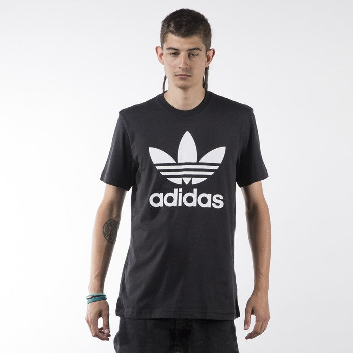 Adidas Originals t shirt Orig Trefoil black (AJ8830)