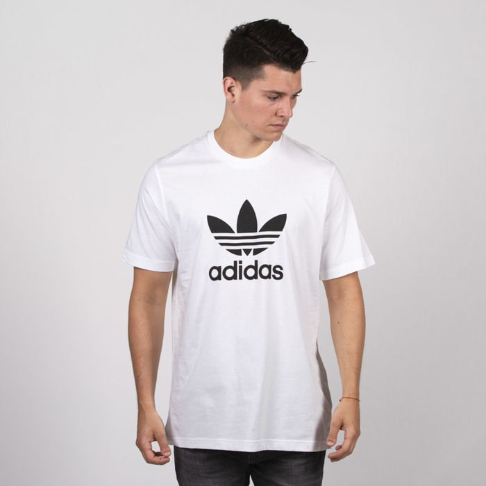 Adidas Originals t shirt Orig Trefoil white (AJ8828)