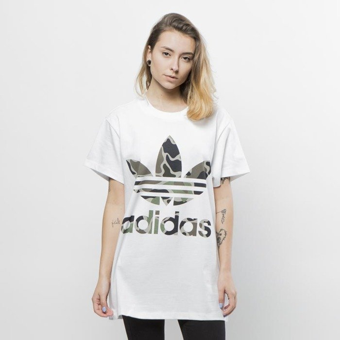 t shirt adidas trefoil damska