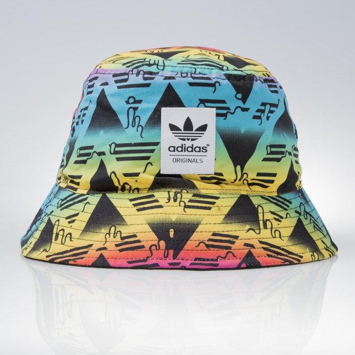 ... Adidas bucket hat Bucket Soccer black / multicolor AJ7089 ...