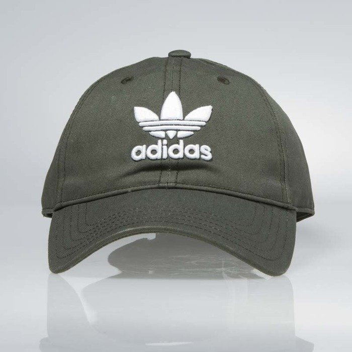 ... Adidas starpback Trefoil Cap khaki white CD8803 WMNS ...