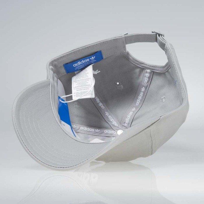 13ed58f1791 Adidas starpback Trefoil Cap medium grey heather solid grey BK7282 ...