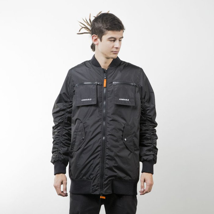 5efd99c4 Admirable winter jacket Corrupted Bomber black   Bludshop.com