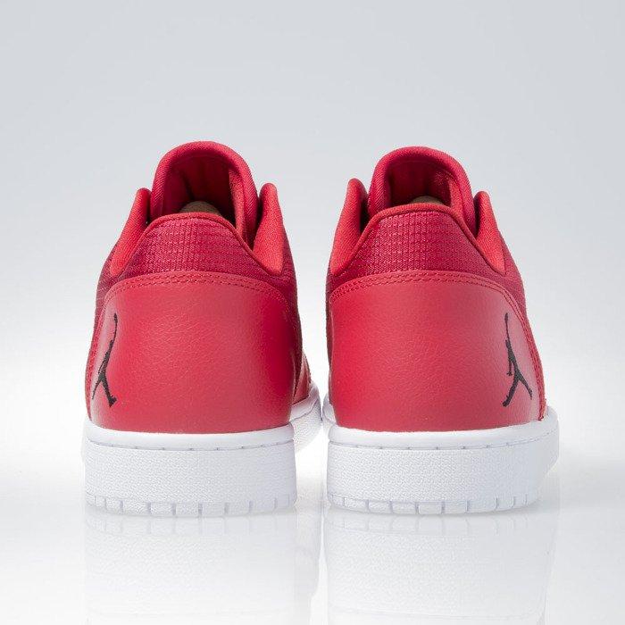 ... Air Jordan 1 Flight 4 Low gym red / black-white (833805-601 ...
