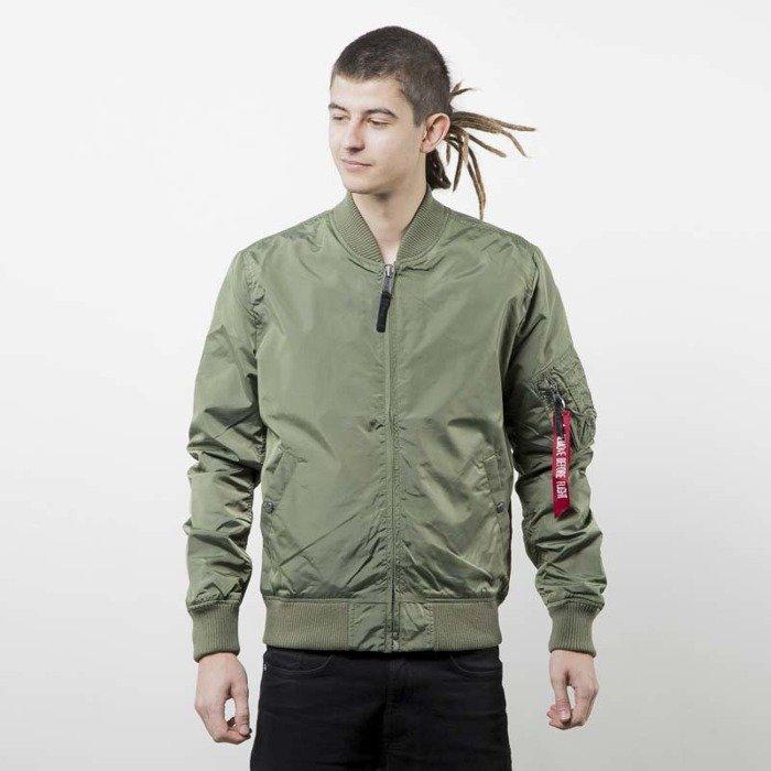 alpha industries bomber jacket ma 1 tt sage green. Black Bedroom Furniture Sets. Home Design Ideas