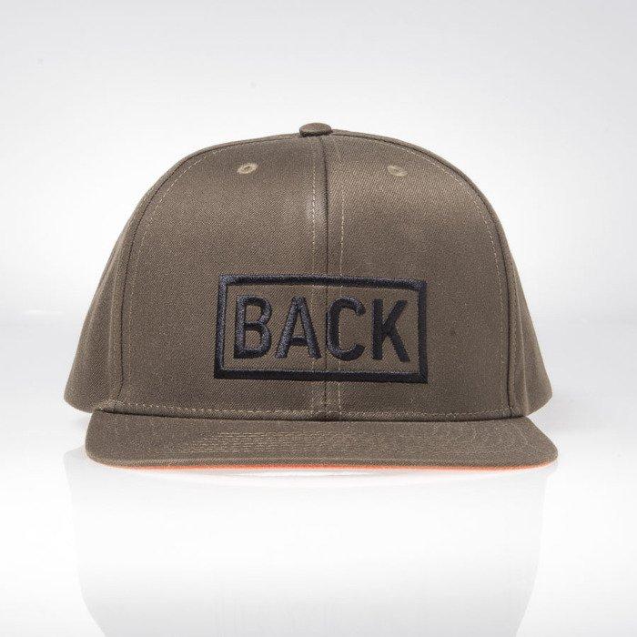 Backyard Cartel cap snapback Inset khaki