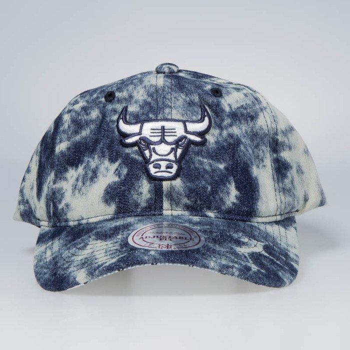 Cap Mitchell   Ness snapback Chicago Bulls denim Acid Stop On A Dime ... 943e06cf1c4
