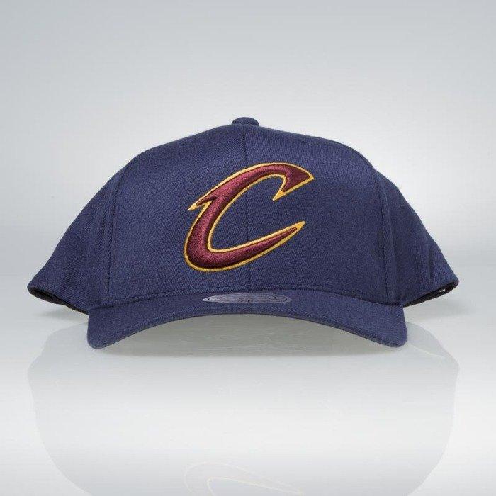 5e14364a90f7b Cap Mitchell & Ness snapback Cleveland Cavaliers navy Team Logo High Crown  Flexfit 110 | Bludshop.com