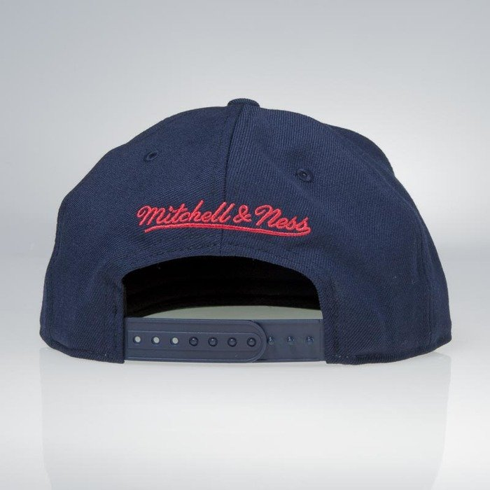 84ee64ddbc56 ... Cap Mitchell   Ness snapback Houston Rockets navy Wool Solid   Solid ...